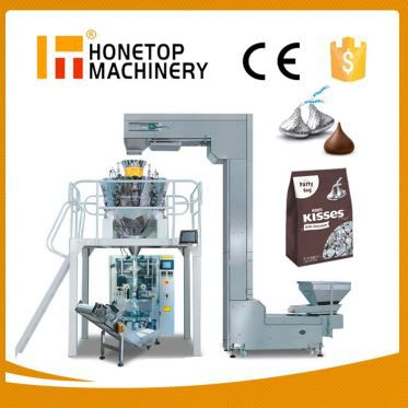 Chocolate Automatic Vertical Packing Machine High Speed