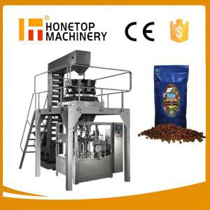 Coffee Beans Full Automatic Packing Machine High Efficient