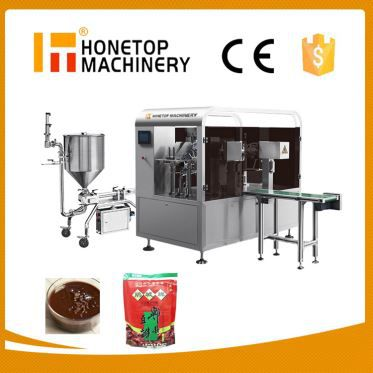Full Automatic Rotary Spout Filling Machine High Speed in China