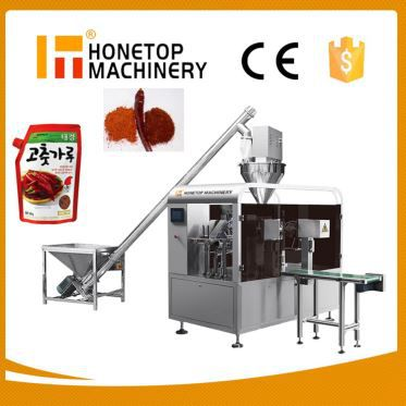 Rotary Premade Automatic Powder Bag Filling Sealing Packaging Machine for Flour