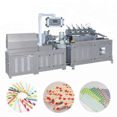 Paper Straw Manufacturing Machine